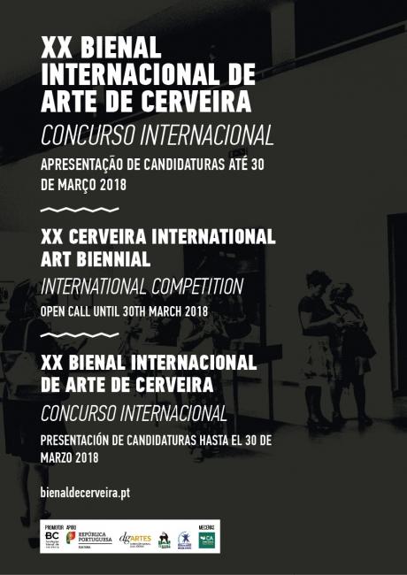 Cartel XX Bienal Vilanova de Cerveira