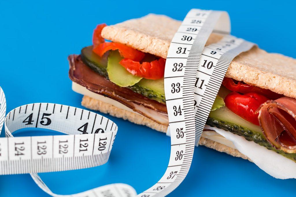 medir en la dieta