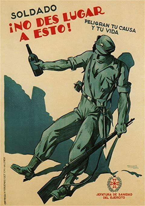 cartel de la guerra civil española