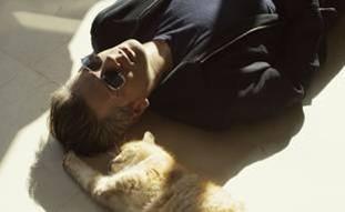 siesta con felino