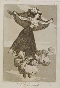 volaverunt, Goya