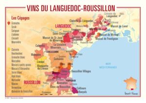 vins du Languedoc Rousillon