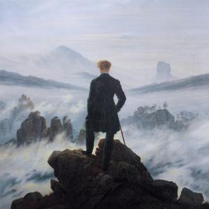 El viajero. Caspar DAvid Fiedrich
