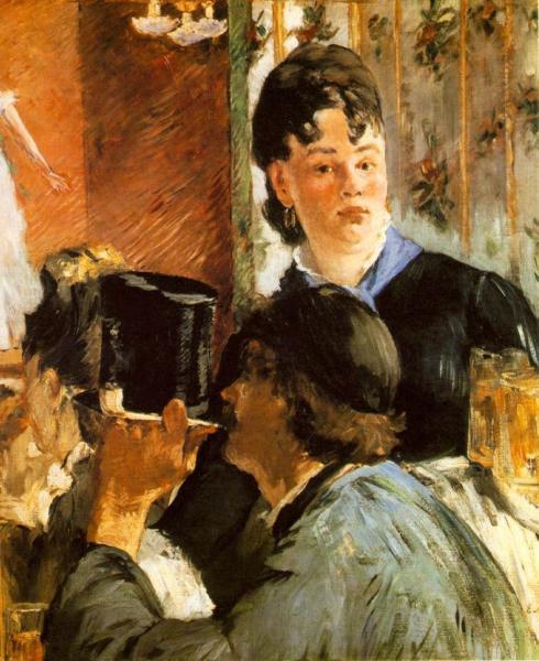La camarera de Edouard Monet