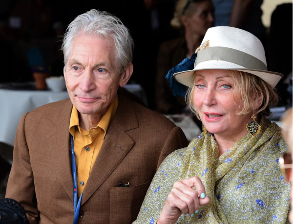 Shirley Ann Sepherd y Charlie Watts