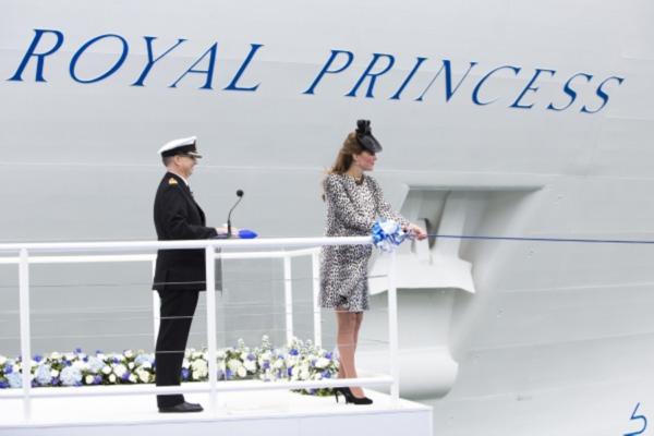 botadura del Royal Princess