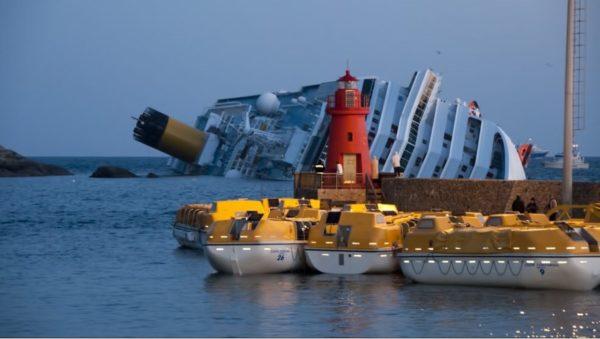 naufragio del costa concordia