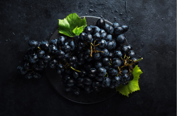 racimo de uva tannat